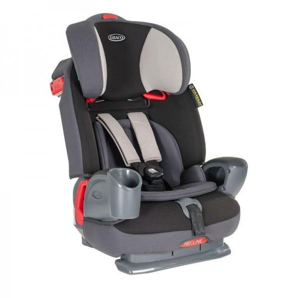 Детское автомобильное кресло Graco Nautilus Aluminium 3 в 1