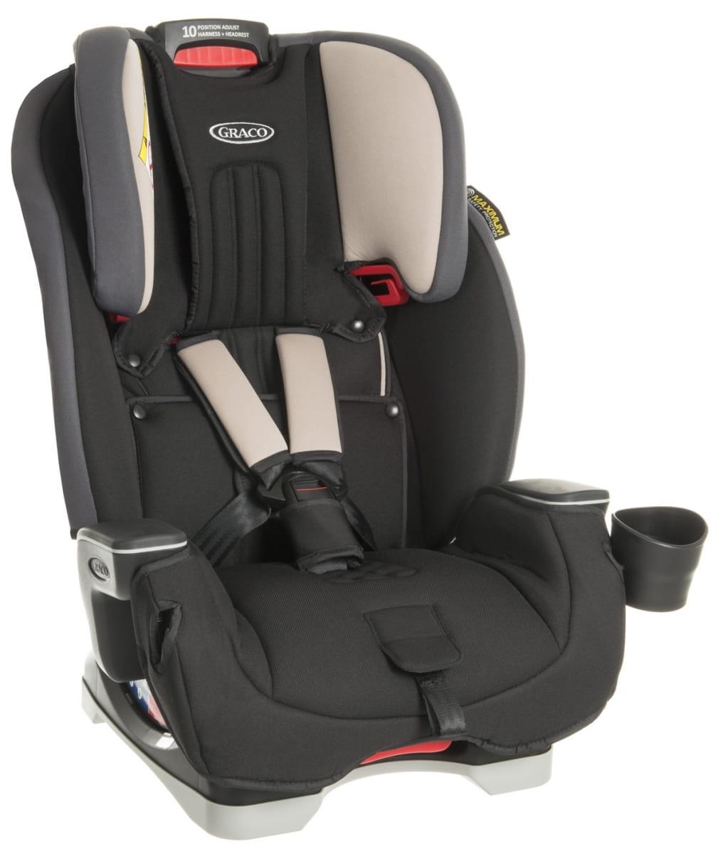 Детское автомобильное кресло Graco 1944556 Milestone Aluminium