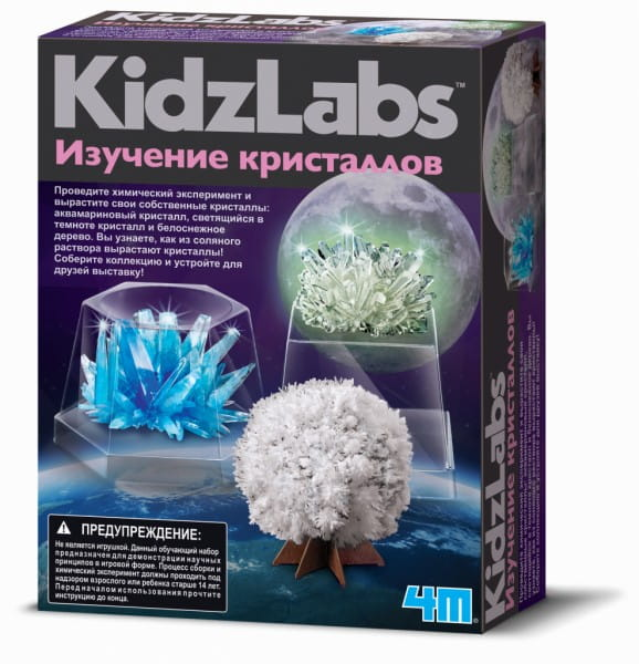 Игровый набор 4M 00-03917 Изучение кристаллов