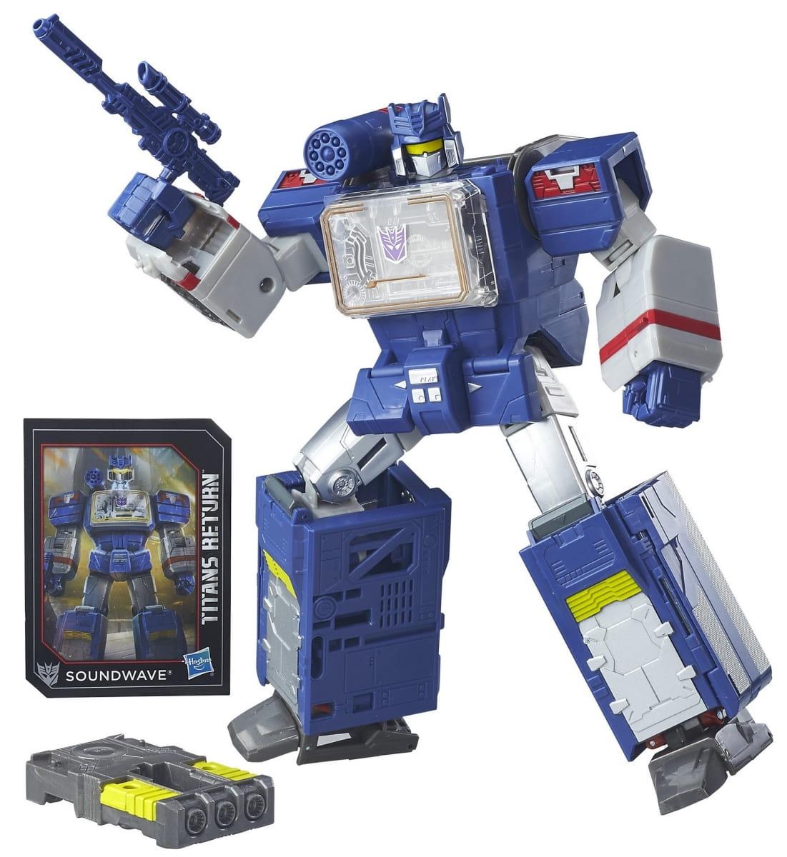 Игровой набор Transformers Дженерэйшнс Войны Титанов  Лидер (Hasbro) - Роботы