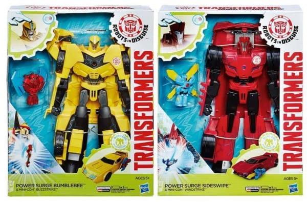 Игровой набор Transformers Роботы под прикрытием Заряженые Герои (Hasbro)