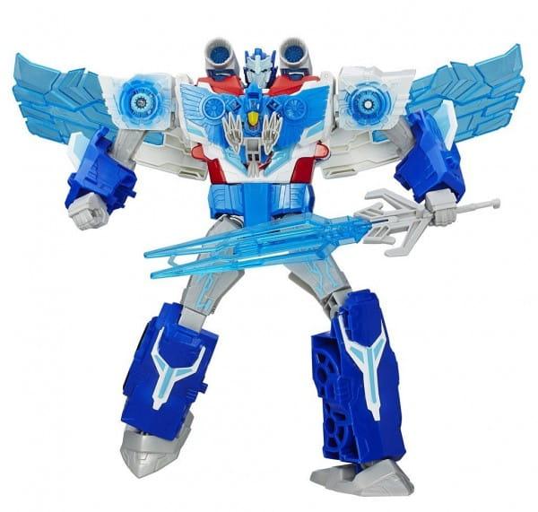 Игровой набор Transformers Роботы под прикрытием Заряженый Оптимус Прайм (Hasbro)