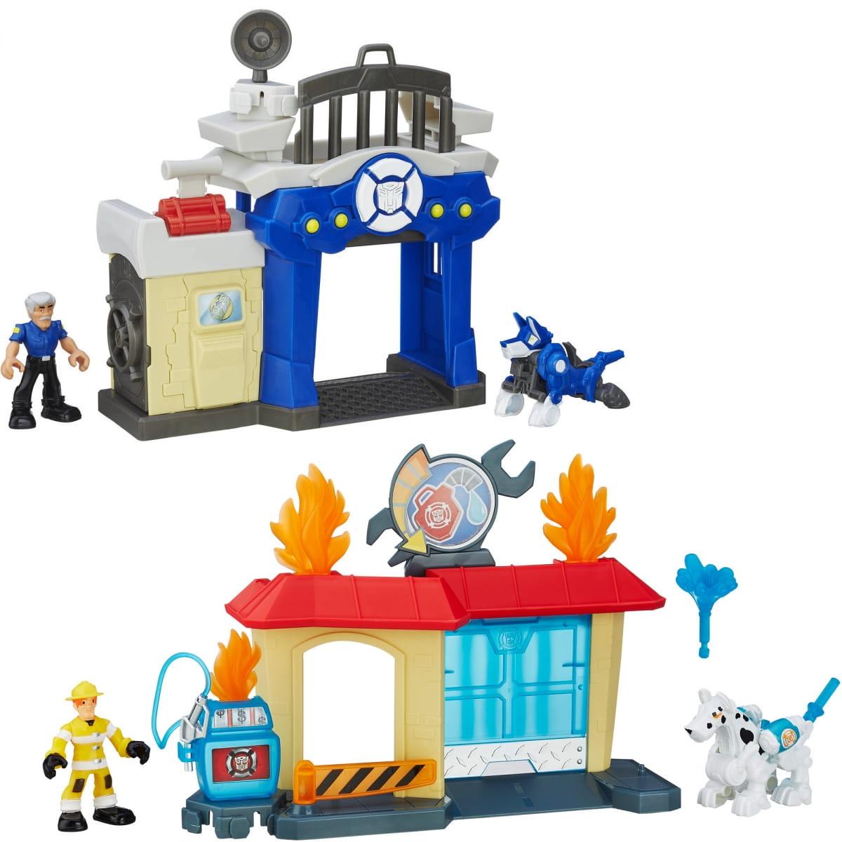 Игровой набор Transformers Спасатели (Hasbro) - Роботы