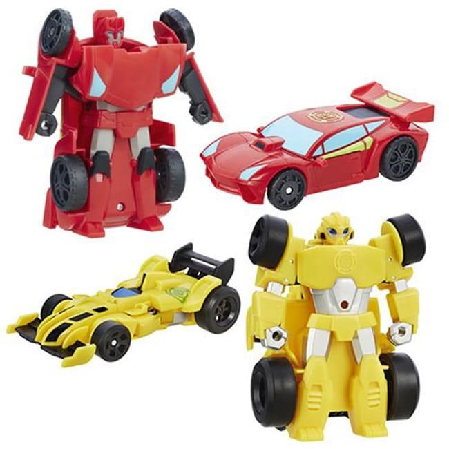 Игровой набор Playskool Heroes Трансформеры Спасатели - Гоночные машинки (Hasbro)