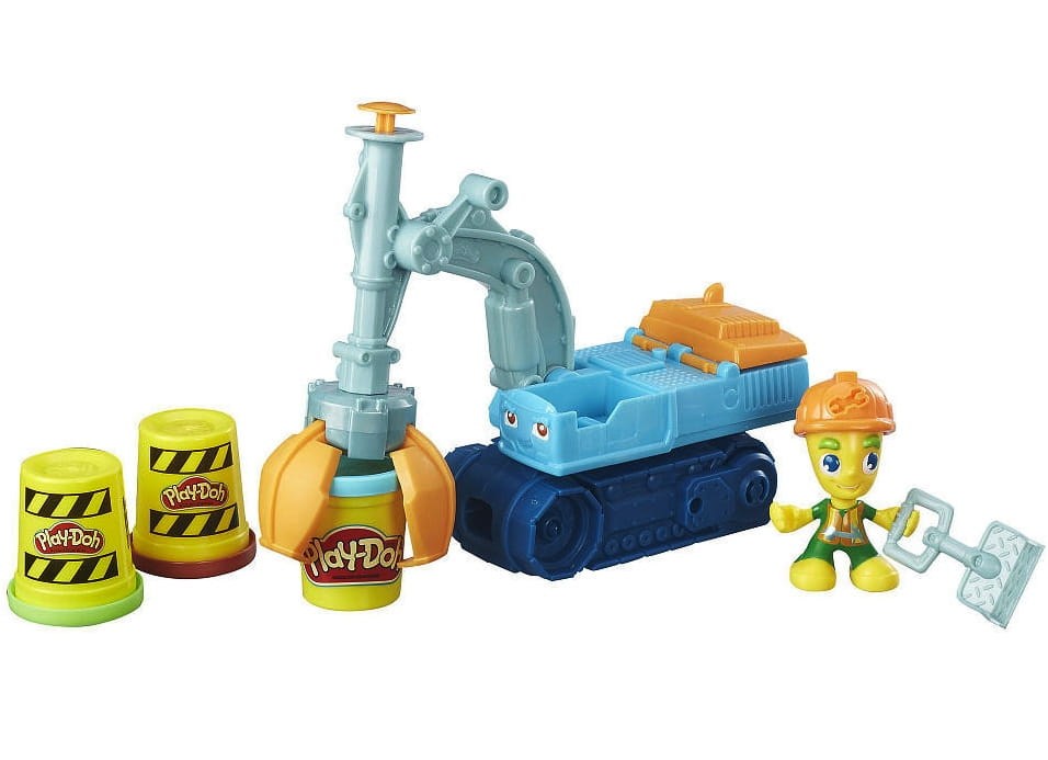 Набор для творчества Play-Doh Экскаватор (HASBRO)