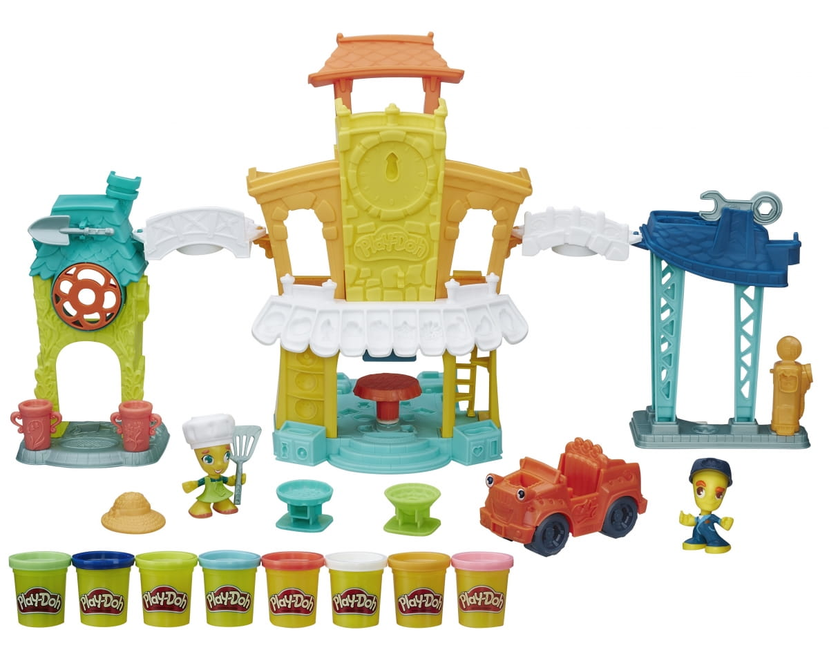 Набор для творчества Play-Doh Главная улица (HASBRO)