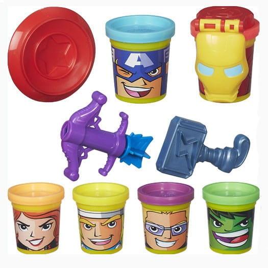 Набор для творчества Play-Doh Коллекция героев мстителей (HASBRO)
