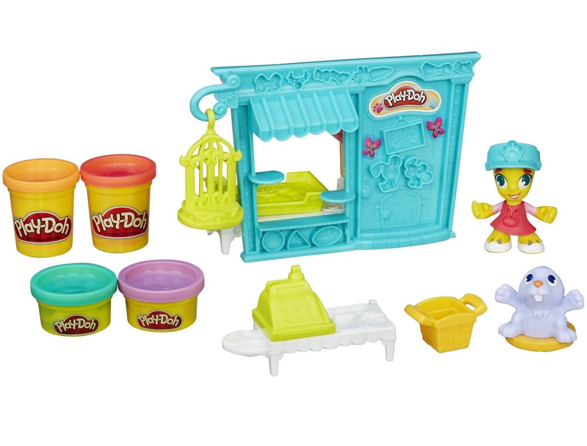 Набор для творчества Play-Doh Город Магазинчик домашних питомцев (Hasbro)