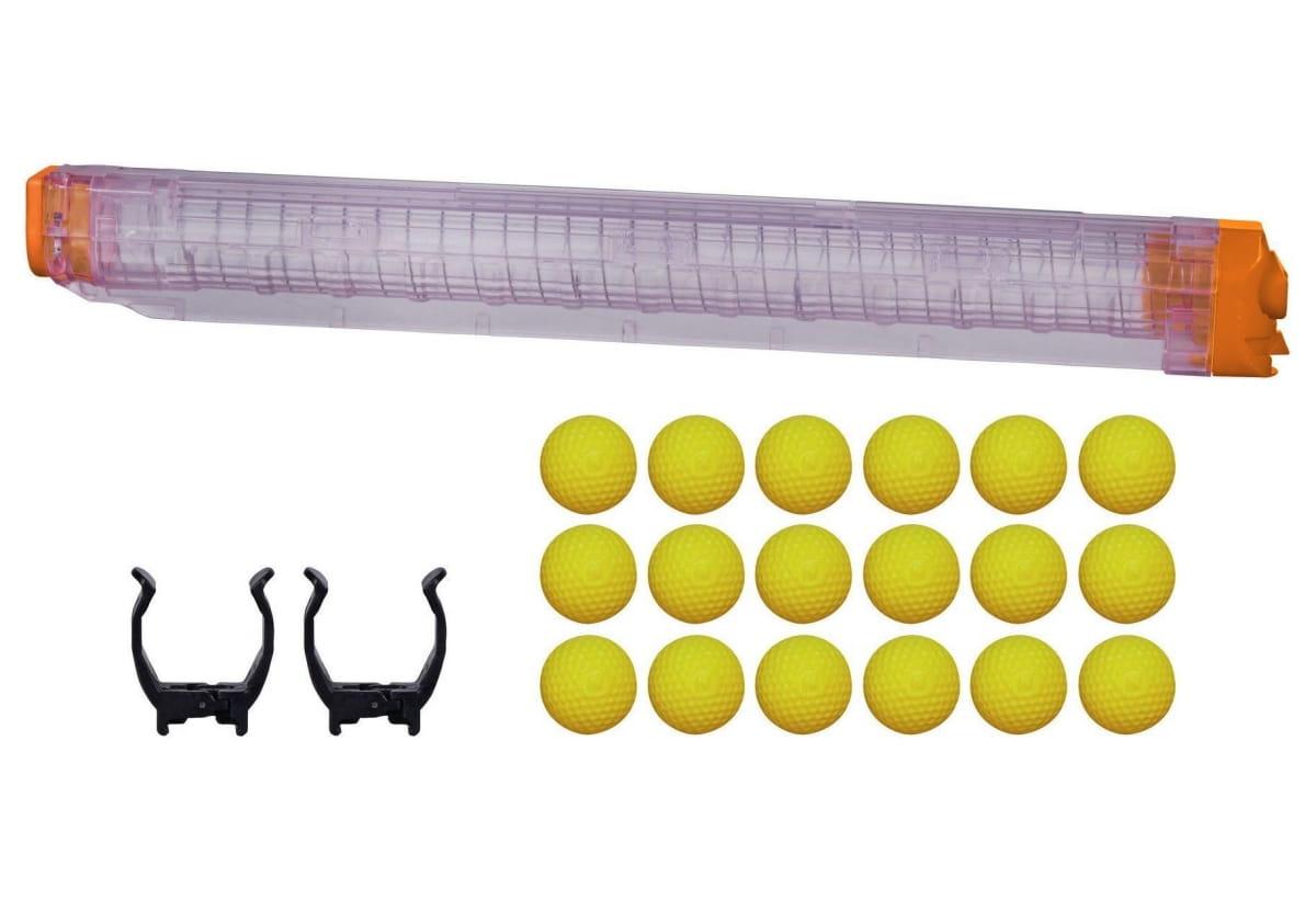Набор для бластера Nerf Райвал Зевс Запасной магазин и 12 шариков (Hasbro)