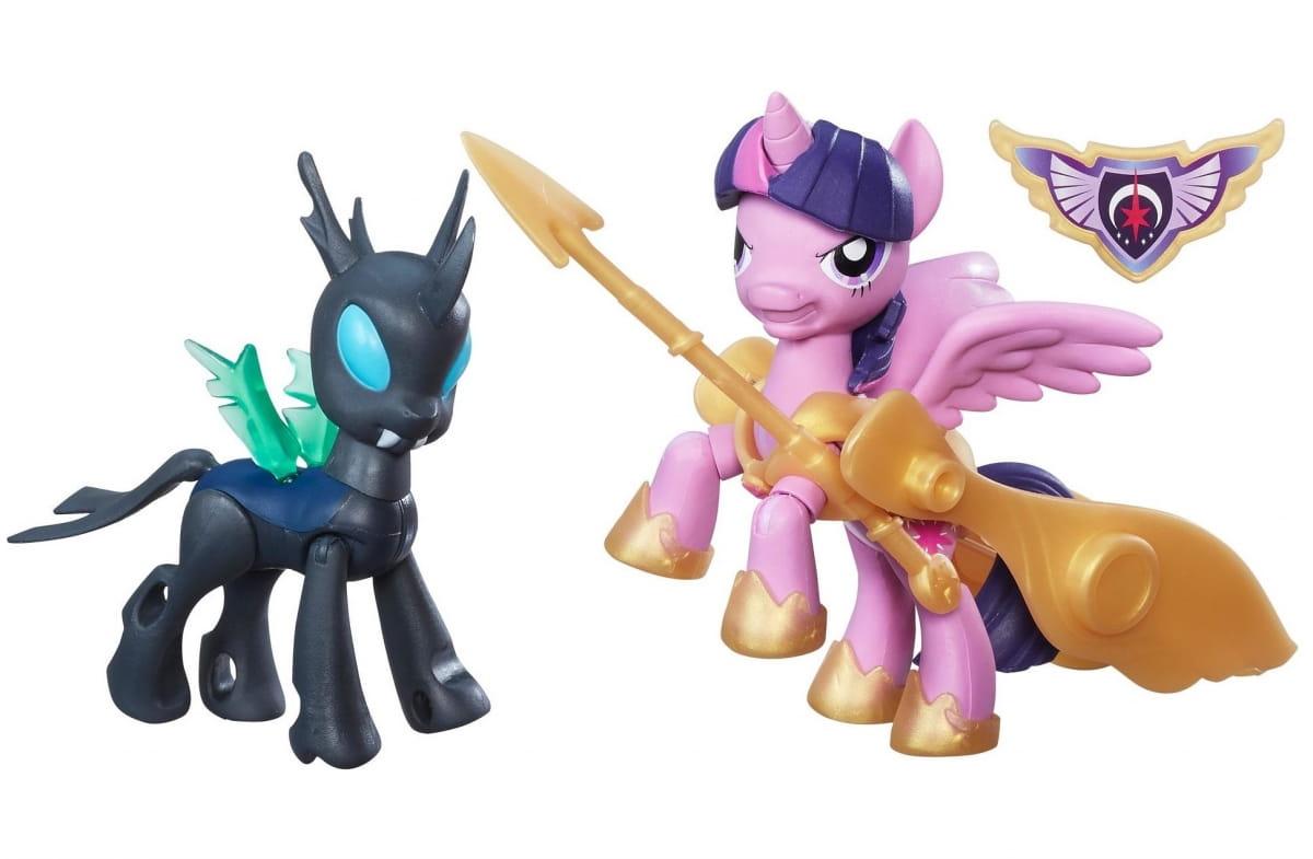 Игровой набор My Little Pony 2 фигурки с артикуляцией - Сумеречная Искорка и Перевертыш (Hasbro)