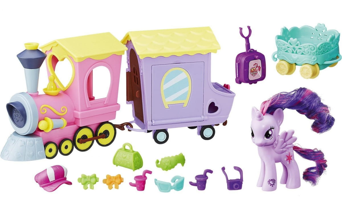Игровой набор My Little Pony Поезд Дружбы (HASBRO) - My Little Pony
