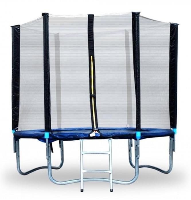 Батут Moove and Fun с защитной сеткой и лестницей - 6 футов (3 ноги)