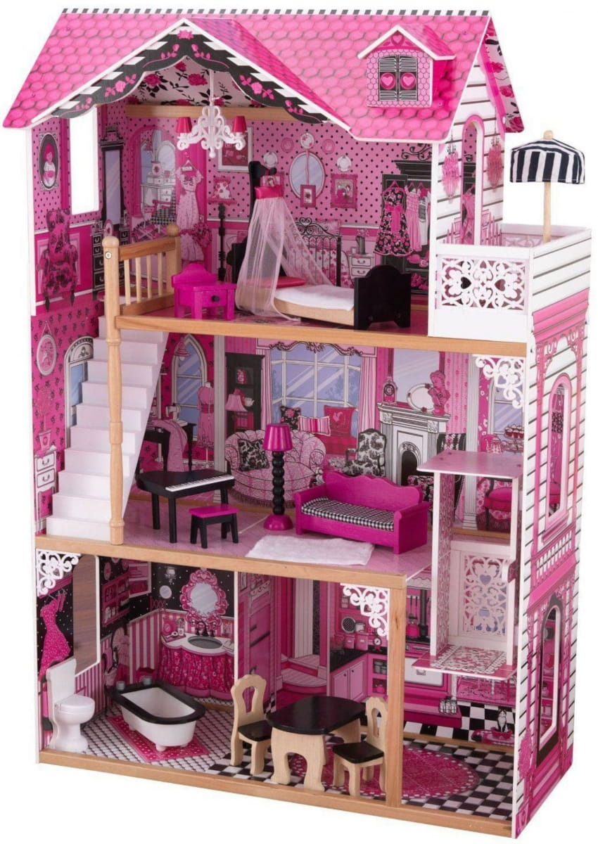 Кукольный домик с мебелью KIDKRAFT Амелия (в подарочной упаковке)