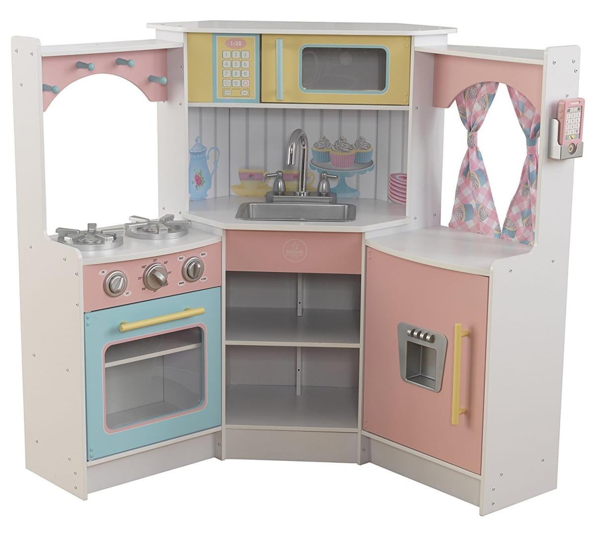 Угловая детская кухня KIDKRAFT Делюкс