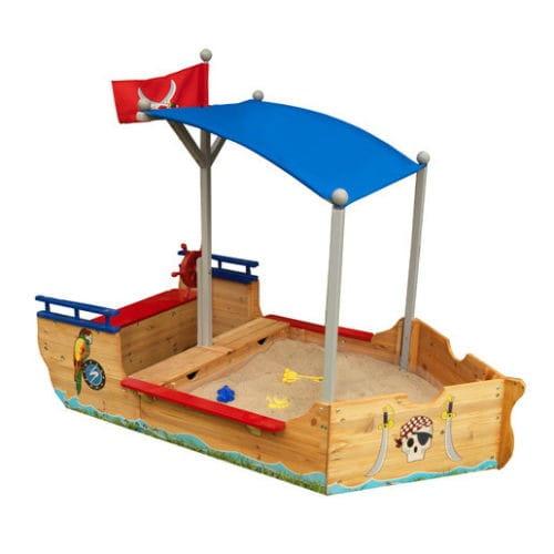 Песочница KidKraft Пиратская лодка Pirate Sandboat