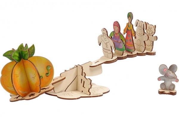 Деревянный набор для творчества Woody О0129 Репка