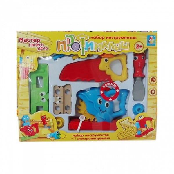 Набор инструментов 1toy Т55987 Малыш-Профи (11 инструментов)