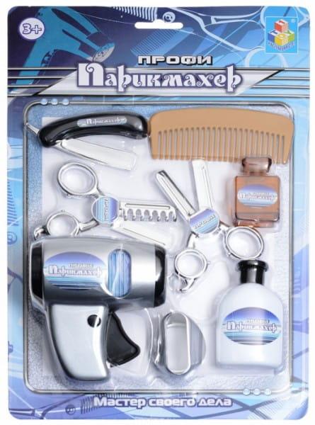 Игровой набор 1toy Т50176 Профи-Парикмахер