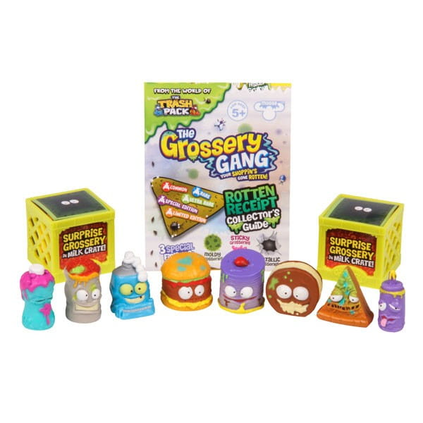 Игровой набор Grossery Gang Пакет чипсов (10 фигурок)