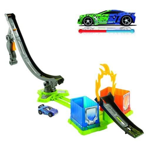 Купить Игровой набор Hot Wheels Color Shifters Автотрек Огненное кольцо (Mattel) в интернет магазине игрушек и детских товаров