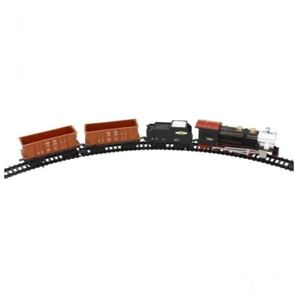 Железная дорога 1toy Т54441 Восточный Экспресс (12 элементов)
