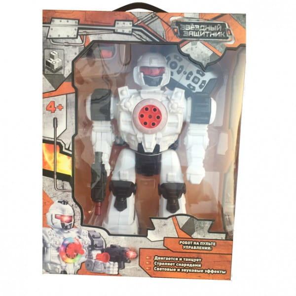 Радиоуправляемый робот 1toy Т59068 Звездный защитник (стреляет липучками)