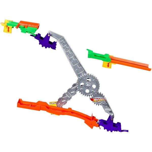 Купить Игровой набор Hot Wheels Супер-гонки (Mattel) в интернет магазине игрушек и детских товаров