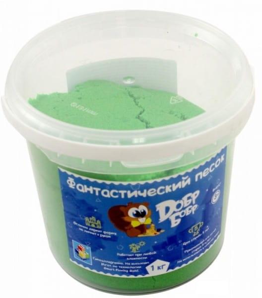 Фантастический песок 1toy Зеленый (1 кг)