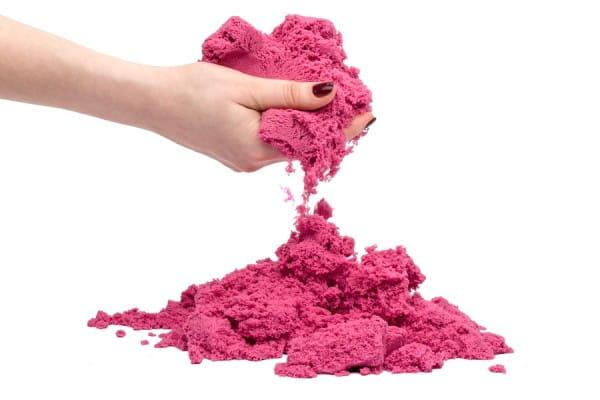 Космический песок SilverToys Розовый (1 кг)