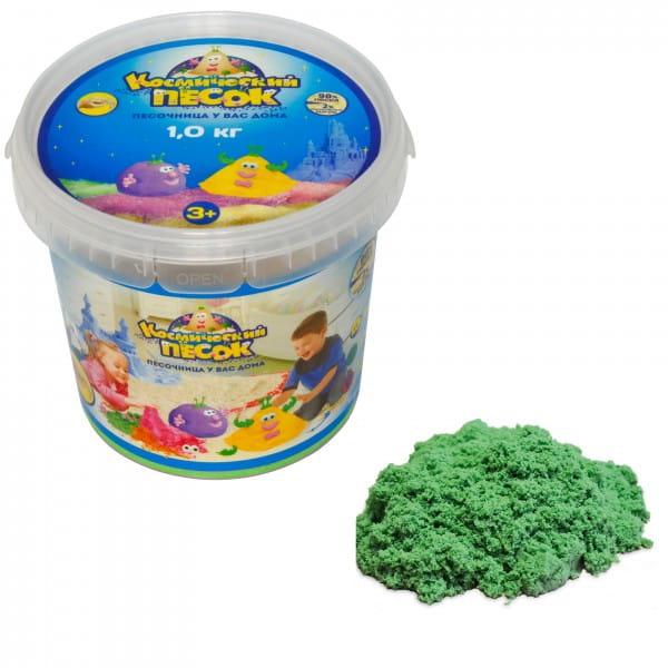 Космический песок SilverToys Зеленый (1 кг)