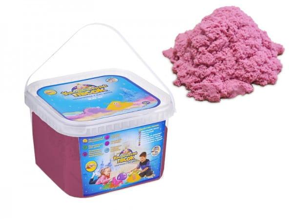 Космический песок SilverToys Розовый (3 кг)