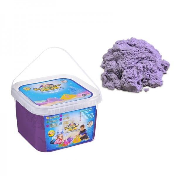 Космический песок SilverToys Сиреневый (3 кг)