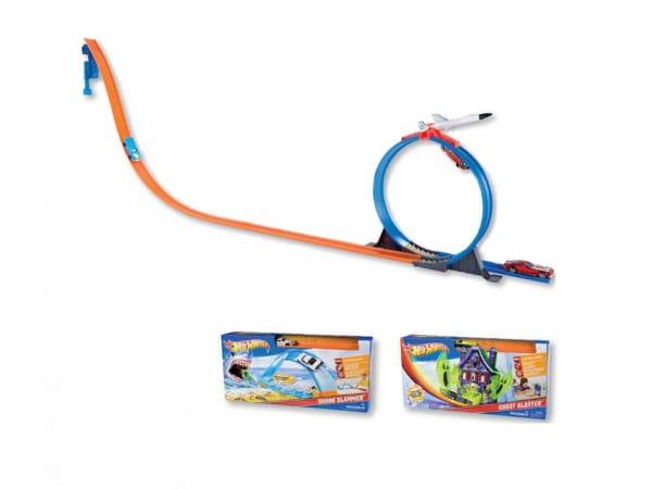 Купить Трек Hot Wheels Эффектный трюк (Mattel) в интернет магазине игрушек и детских товаров