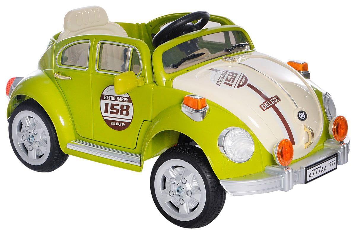 Электромобиль 1toy Т58696 Beetle