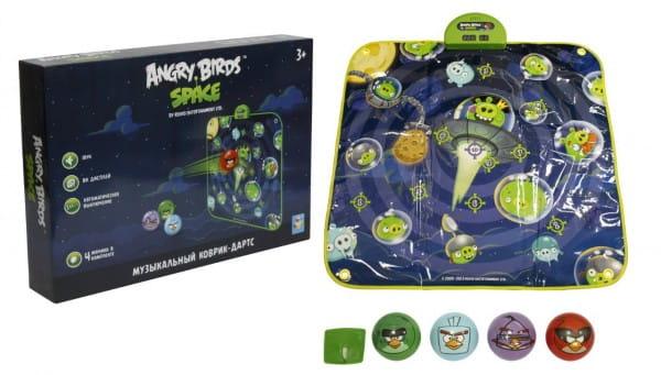Музыкальный коврик - дартс 1toy Т56500 Angry Birds Space