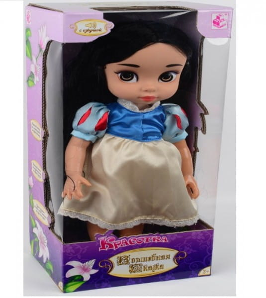 Кукла 1toy Т58299 Красотка - Белоснежка