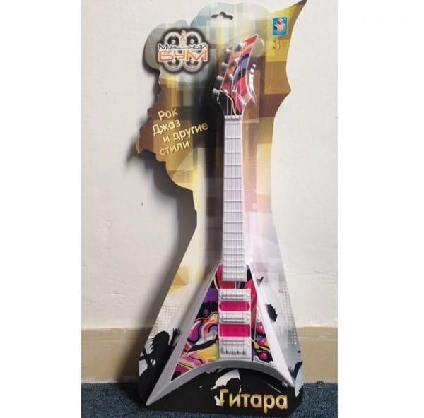Музыкальная игрушка 1toy Т59153 Гитара