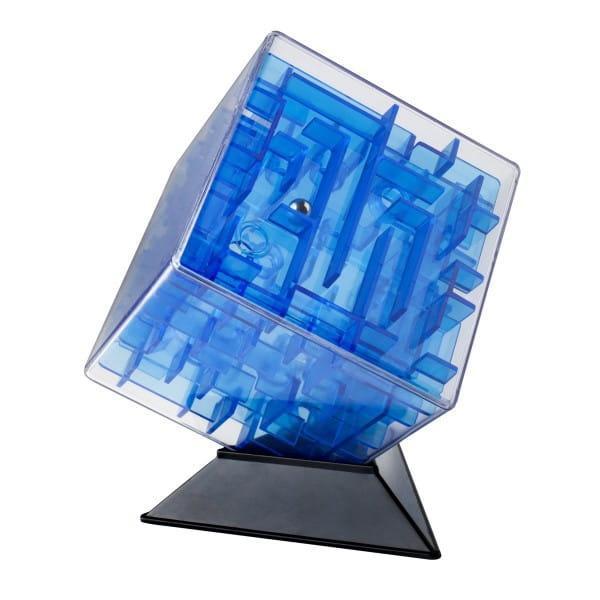Головоломка - игра Labirintus Синий куб - 10 см