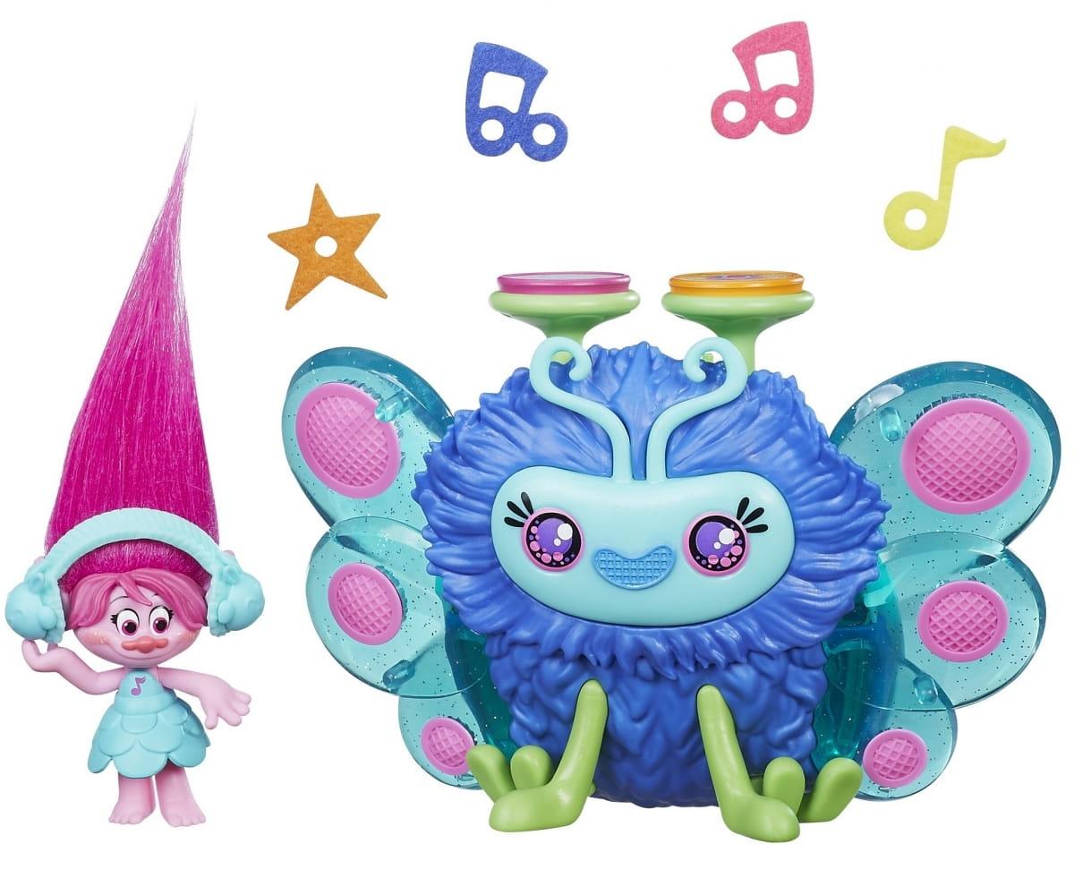 Игровой набор Hasbro Trolls Диджей Баг
