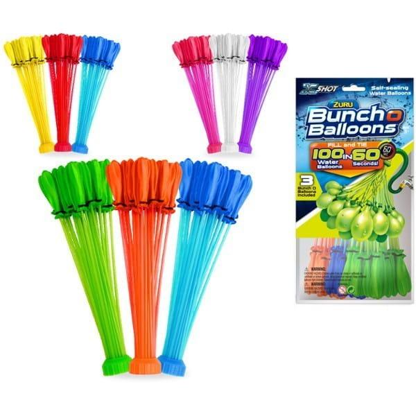 Игровой набор Bunch O Balloons Z1213 Стартовый набор - 100 шаров