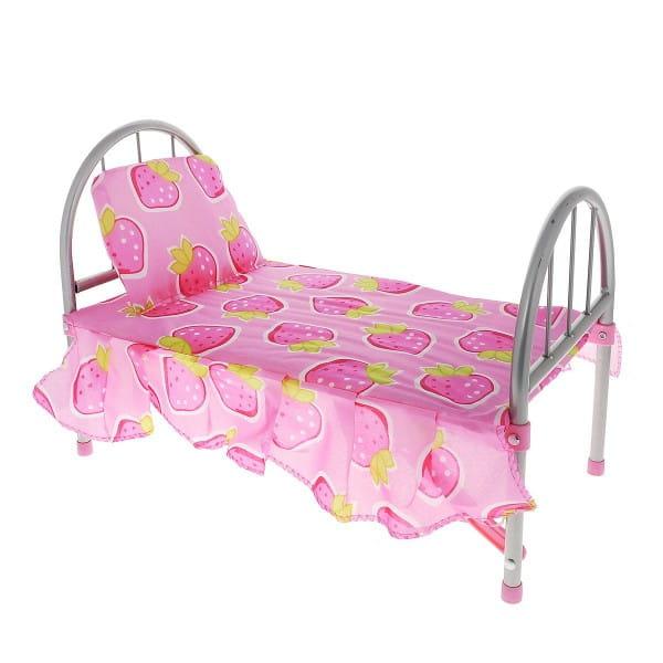 Кроватка для кукол 1toy Т53135 Здоровый сон