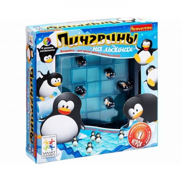 Логическая игра Bondibon Пингвины на льдинах