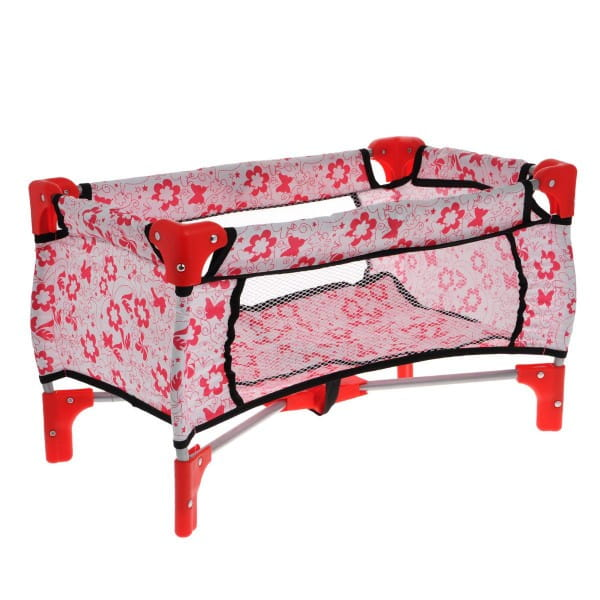 Кроватка для кукол 1toy Т57309 Аленький цветочек