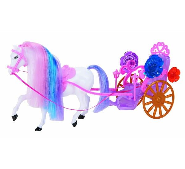 Карета с лошадью 1toy Т53235
