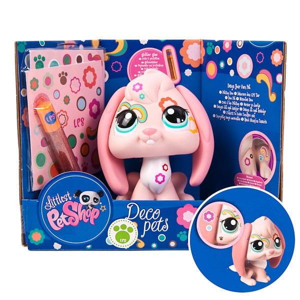Купить Игровой набор Littlest Pet Shop Раскрась своего питомца - Зайчик (Hasbro) в интернет магазине игрушек и детских товаров