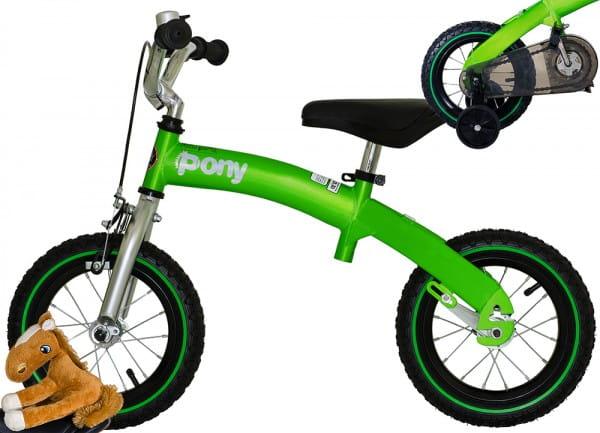 Детский беговел-велосипед Royal Baby Pony 2 в 1 - 14 дюймов