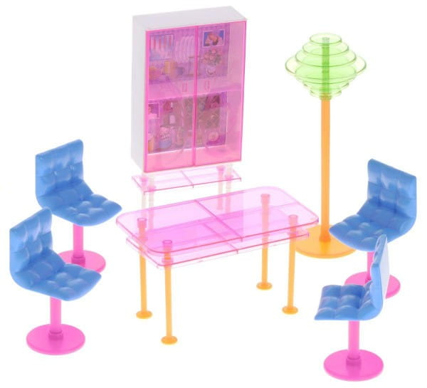 Набор мебели для кукол 1toy Т54505 Столовая