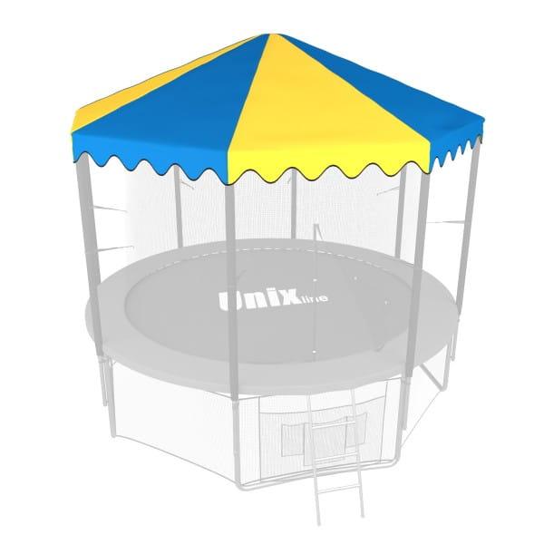 Крыша Unix ROU10 для батута 10 футов - 305 см (голубой)