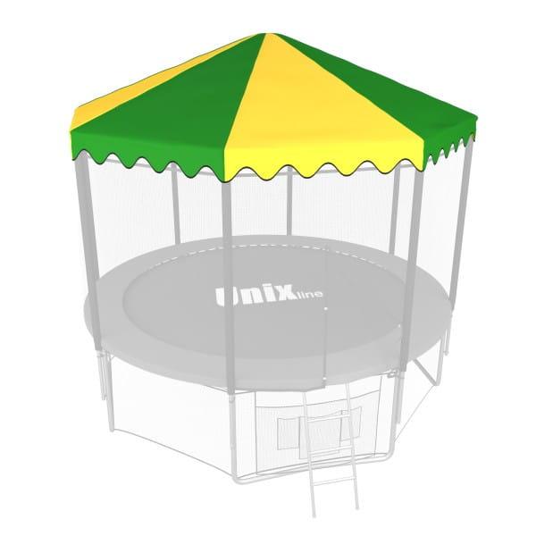 Крыша Unix ROU12 для батута 12 футов - 366 см (зеленый)