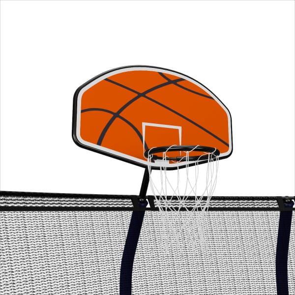 Баскетбольный щит для батутов Unix BASKUSU line Supreme 12-16 футов